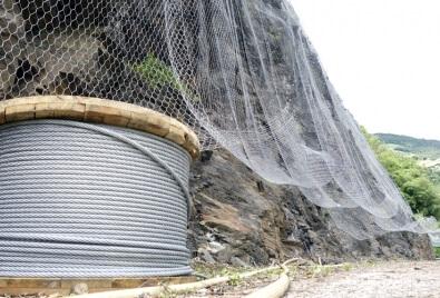 Des filets de protection d'environnement