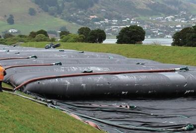 Application de barrage en terre de Geobera