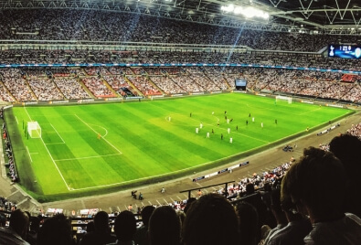 Application de tribune de stade