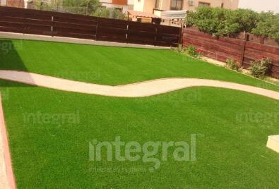 Application de jardin de gazon artificiel