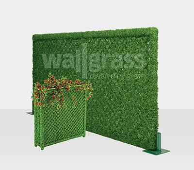 Panel vert de barrière de gazon